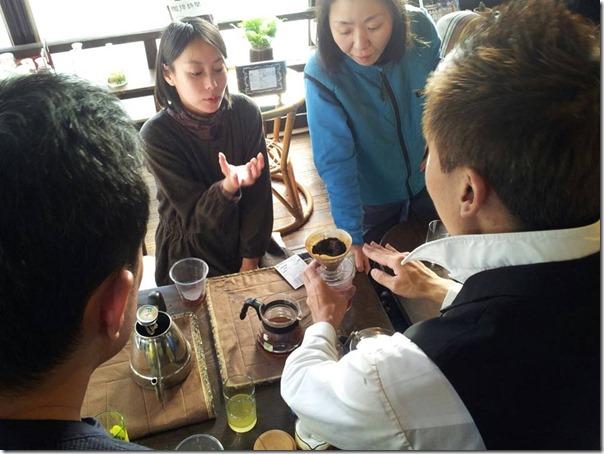 熊本コーヒー指導
